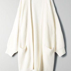 Aritzia Wilfred rourke sweater espace xxs
